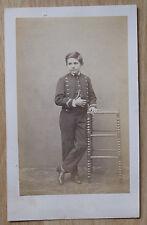 A. Vernet Enfant Carte de visite Vintage / Photo