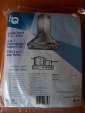 2 in1 Combi Aktivkohlefilter Kohlefilter Fettfilter Universal  Dunstabzugshaube