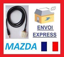 Adaptateur fiche auxiliaire adaptateur mp3 iphone samsung autoradio Mazda 3