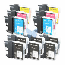 12+ PK LC61 Ink for Brother MFC-J630W MFC-J615W MFC-J415W MFC-J410W MFC-J270W