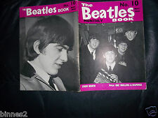 THE BEATLES GENUINE ORIGINAL MAY 1964 - OFFICIAL MONTHLY BOOK No 10 NEAR MINT