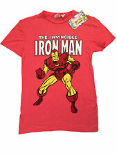 PRIMARK MENS THE INVINCIBLE IRON MAN MARVEL CLASSIC T SHIRT OFFICIAL BNWT S