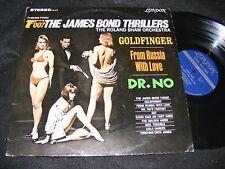 CHEESECAKE Bikini Cover JAMES BOND THRILLERS LP Roland Shaw LONDON Stereo DR. NO