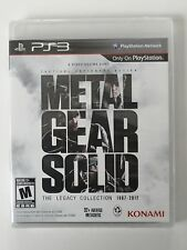 PS3 Metal Gear Solid: The Legacy Collection (No Artbook) BRAND NEW SEALED