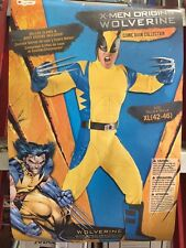 WOLVERINE DELUXE ADULT COLLECTORS COSTUME EXTRA LARGE XL (42-46) X-MEN DISGUISE