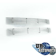 Aluminum Polishe Chrome 8mm Horizontal Billet Grille Grill 94-98 Chevy Silverado