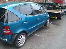 MERCEDES A CLASS O/S FRONT WING BLUE NICE PAINT