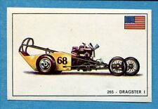 STORIA DELL'AUTOMOBILE Panini Figurina-Sticker n. 265 - DRAGSTER I -Rec