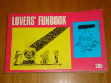 LOVERS FUNBOOK MAGAZINE #1 CLIPPER PRESS 100 PAGES LOVERS JOKERS FUNNY FACTS ETC