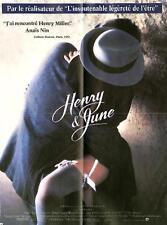"""Affiche du film """" Henry et June """" de Philip Kaufman ."""