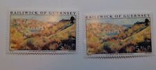 BAILIWICK of GUERNSEY POSTAGE STAMPS-1974 PAINTING BY RENOIR-MINT/NH/OG