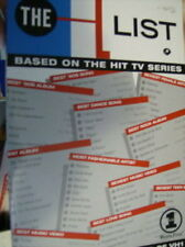 The List: Compiled by the Editors of Vh1, Paperback Book, 2000