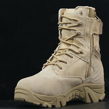 NEW Men's Desert Tactical Army Combat Boots Walking Hiking Patrol Military Shoes
