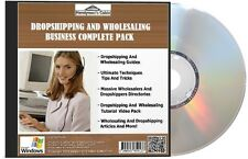 DropShipping e all'ingrosso Business Completo Pack-Video, guide, elenchi DVD