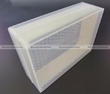 2pcs Clear Honey Lattice Produce Box Bee Hive Honey Box Beekeeping Tool 250g