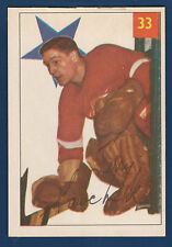 TERRY SAWCHUCK 54-55 PARKHURST 1954-55 NO 33  LOOKS NICE  4941