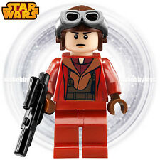 LEGO Star Wars Minifigures - Naboo Fighter Pilot ( Red : 7877, 9674 ) Minifigure