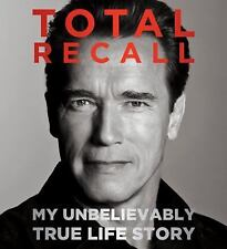 Total Recall My Unbelievably True Life Story Audio CD Arnold Schwarzenegger New