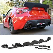 For 13-Up Scion FR-S Subaru BRZ Rear Bumper Lower Spoiler Air Flow Diffuser Kit