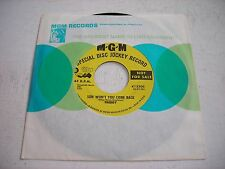 PROMO w SLEEVE Freddy Son Won't You Come Back 1960 45rpm VG++