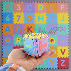 Interlocking EVA Foam Alphabet Letter Numbers Soft Play Mat Educational Puzzle J