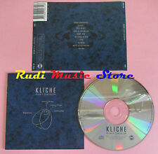 CD KLICHE Planet confusion 2001 MEMENTO MATERIA MEMO 061 no lp mc dvd vhs