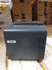 Epson TM-T90 NETWORK RJ45 Thermal POS Ticket Receipt Printer NOIR BLACK + PSU