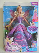 Barbie Mariposa & the Fairy Princess Doll CATANIA with TWO Magical Looks! Age 3+