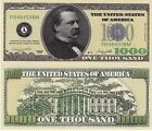 Novelty Notes / Fun Money / Spielgeld - 1000 DOLLARS / GROVER CLEVELAND - *neu*