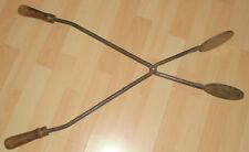 dachbodenfund oblaten gebäck waffel zange oblatenzange alt antik top deko metall