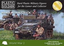 The Plastic Soldier Company 15mm US M3 Halftrack WW2V15016