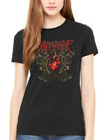 Official Bullet For My Valentine Temper Temper Filigree Women's Fitted T-Shirt