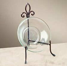 Large York Metal Stand for Books, Bowls, or Platters Easel Plates Display
