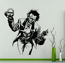 Joker Wall Decal Superheroes Comics Vinyl Sticker Art Decor Nursery Mural 231su