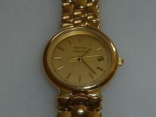 PORTFOLIO TIFFANY & CO GOLD PLATED WOMANS SWISS WRIST WATCH ALB