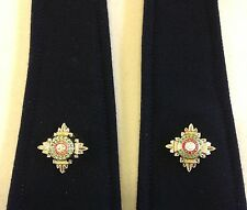 2nd Lieutenant Rank, Officer Rank Stars, Pips, Second Liet, Pair, Army, Military