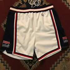 Vtg 1992 Usa Olympics Dream Team Pro Cut Champion Shorts Nba