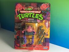 TEENAGE MUTANT NINJA TURTLES ACTION FIGURE TMNT MOC PLAYMATE VINTAGE KRANG BRAIN