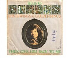 BILLY JO SPEARS - Silver wings & golden rings