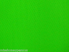 Flourescent Neon Green 80s Fancy Dress Net Tulle Tutu Fabric Material 80s retro
