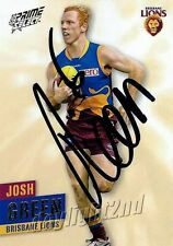 ✺Signed✺ 2013 BRISBANE LIONS AFL Card JOSH GREEN