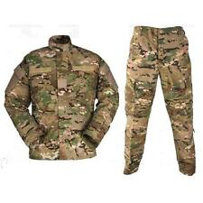 US ARMY OCP MULTICAM UNIFORM SMALL LONG PANTS & SMALL LONG SHIRT