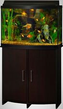 Bow Front Aquarium Stand Holds Tanks up to 36 Gallons