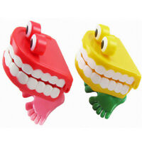 CHATTERING TEETH Wind Up Toy Party Goodie Loot Bag Filler Favour Joke Hot Cheap