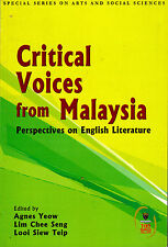 Critical Voices from Malaysia: Perspectives on English Literature
