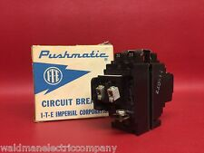 20 AMP PUSHMATIC Duplex TWIN Double Pole P2020-2 BREAKER New in Box