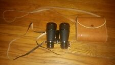 Vintage Vicki Japan Field Glasses Binoculars 4 x 40 w Leather Case 4x40 antique