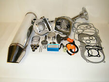 Scooter 150cc GY6Cylinder Kit 150cc Performance Exhaust Chrome CDI Cam Coil