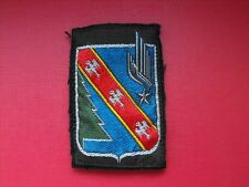 N°116 insigne militaire armée écusson patch badge régiment french army