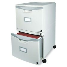 Storex 2-Drawer Mobile Filing Cabinet - 61301B01C
